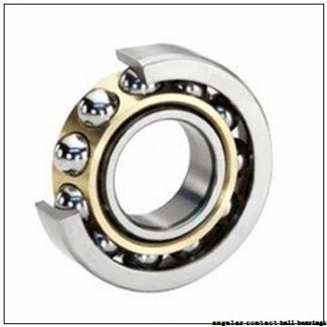 34,925 mm x 76,2 mm x 17,4625 mm  RHP QJL1.3/8 angular contact ball bearings