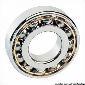 45 mm x 86 mm x 39 mm  Fersa F16123 angular contact ball bearings
