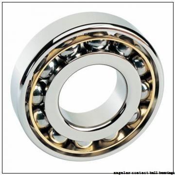 45 mm x 83 mm x 44 mm  ISO DAC45830044 angular contact ball bearings