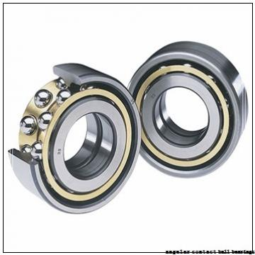 35 mm x 66 mm x 33 mm  Fersa F16093 angular contact ball bearings