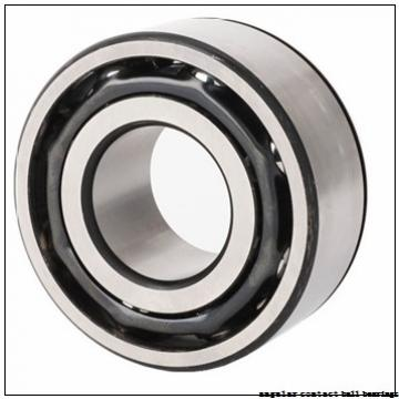 40 mm x 80 mm x 30,162 mm  FBJ 5208 angular contact ball bearings