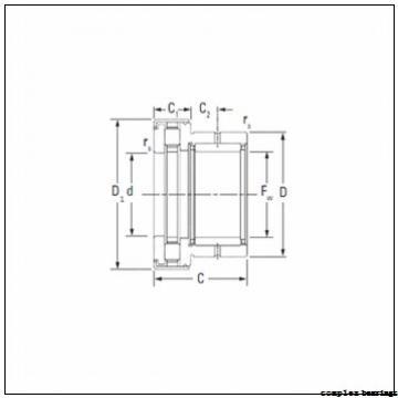 25 mm x 75 mm x 10 mm  25 mm x 75 mm x 10 mm  NBS ZARF 2575 L TN complex bearings